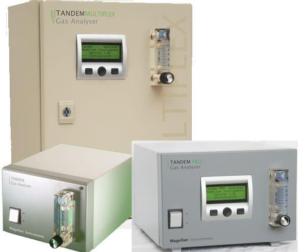 HEL Tandem Range of gas analysers