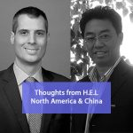 , Qing (Steven) Chen took on leadership for the H.E.L business in China. Then, in June, Mert Sahin took on a similar role for our North American business.